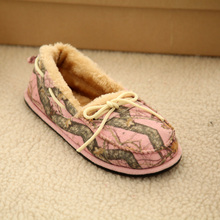 fashional plush flat bedroom leisure shoes