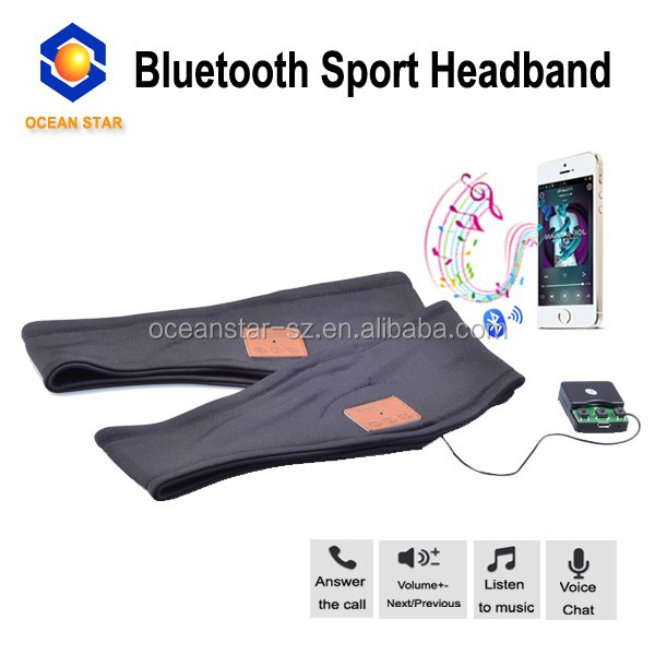 Electronic gadgets new for 2016 bluetooth headband
