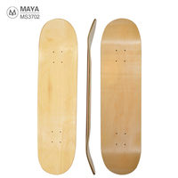 Blank 31*8inch Deep concave Skate Board deck 7 layers Maple mapl custom decks skateboard