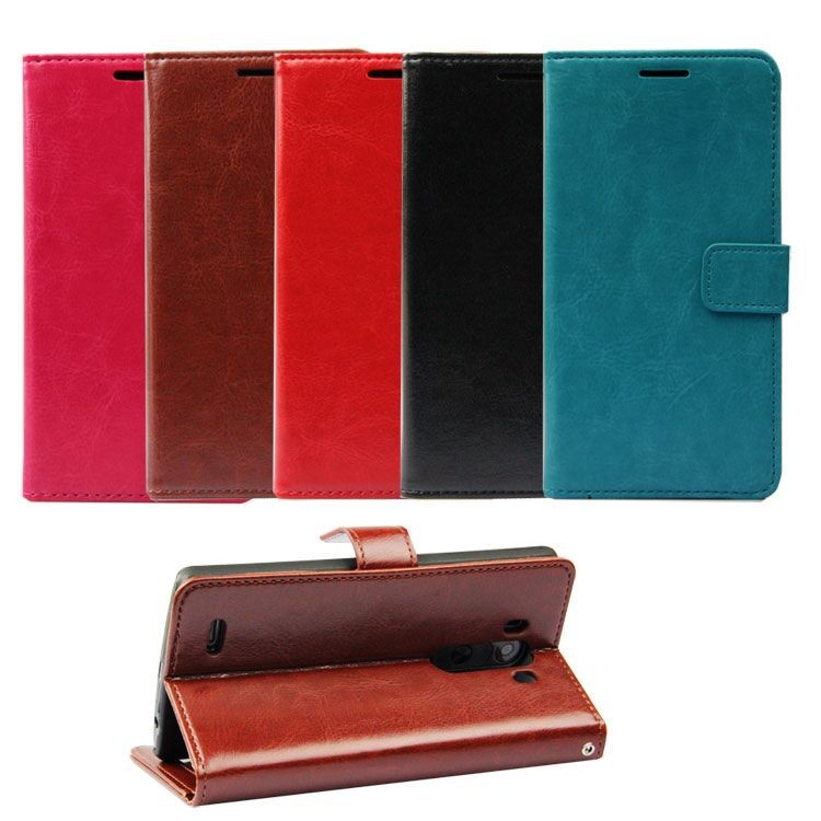 Flip for LG G3 case leather,PU wallet cover for LG phone