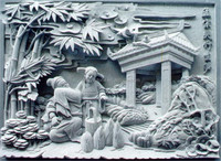 Natural stone sculpture,Chinese style carving