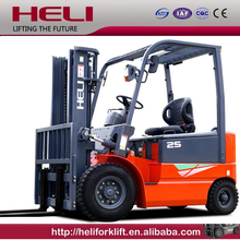 China Heli Brand with Safety and Braking safety device electric forklift 1.5 ton