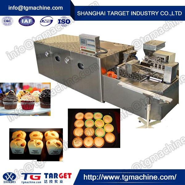 high efficiency machine make cake/automatic cup cake making machine
