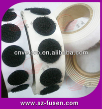Easy & quick to use Strong power adhesive hook loop adhesive dots circles