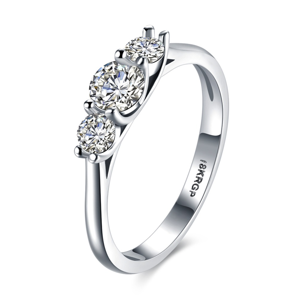 2017 fashion jewelry wedding ring in silver ring