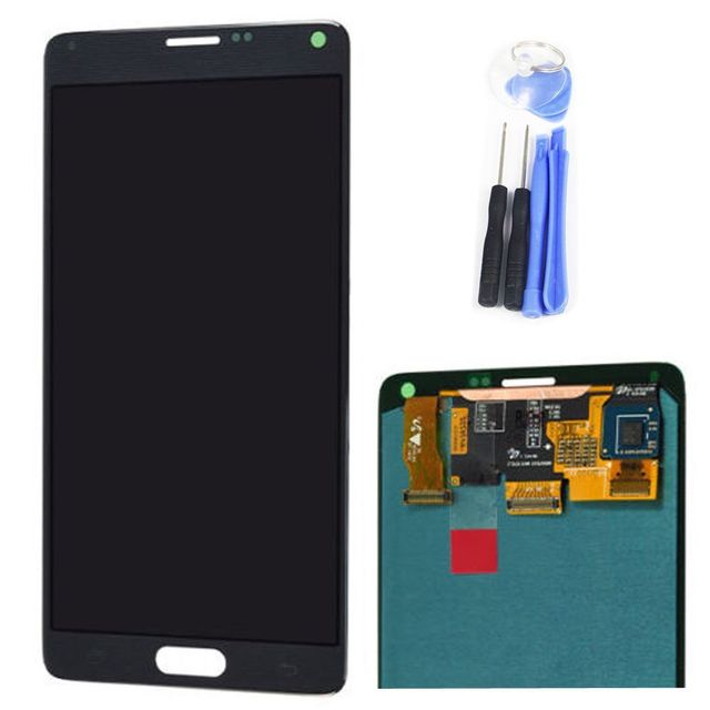AAA Quality Original For Samsung Galaxy Note 4 N9100 N9106 N910f LCD Panel Touch Screen Digitizer Assembly Grey White