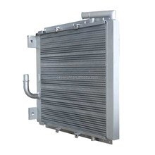 High quality air compressor oil radiator