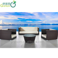 english style low seat sofa set made in China
