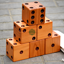 PERFECT giant wooden yard dice for Event & Party Supplies