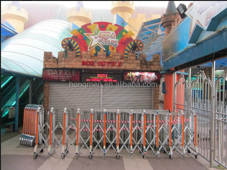 Temporary Barrier Gate , Security Crowd Control Gate For Arena Stadium