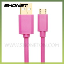 wholesale high speed data sync charging awg22 micro usb cable for samsung mobile phone