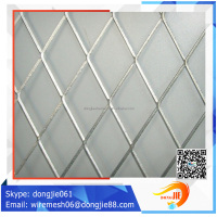 Best price Fluorine carbon spraying aluminum expanded metal mesh/Decorative mesh for Curtain wall