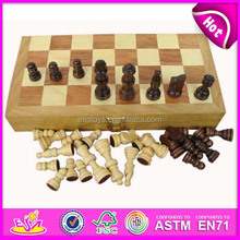 2015 wholesale wooden board chess,high quality wooden chess game for sale, hot sale chess set WJ277101