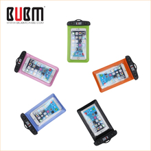 Popular high evaluation durable waterproof phone bag pvc case for cell phone