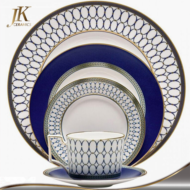Chinese new year hot selling dinnerware sets wholesale antique china dishes bone china dinner sets