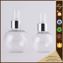 100ml Spherical PET Glitter Spray Bottle Body Splash Mist Bottle