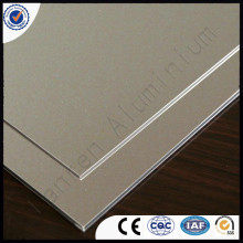 white sliver gray 5mm 6mm aluminium composite panel /sheet Best price