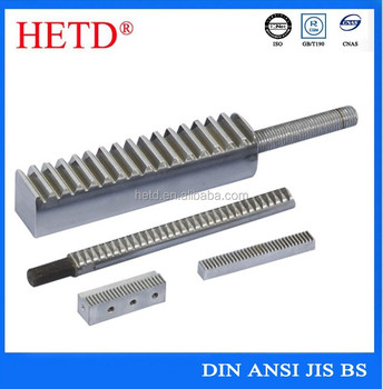 OEM forged standard small rack for sliding door/gates