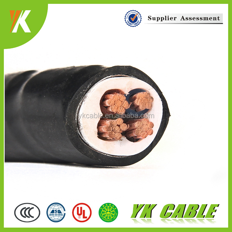 Fire-Resistant 4mm low voltage armoured copper 4 core armored cable