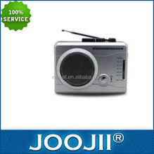 2016 amazing FM/AM radio player with cassette and alarm clock
