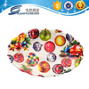 Hard and oval wavy-edge plastic container custom plastic tray/chrismas decor