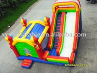 Inflatable slide castle, inflatable bouncer slide,inflatable bouncer/slide combo