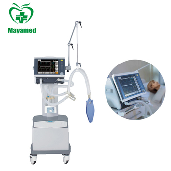 MY-E004D movable ICU Ventilator with medical air compressor