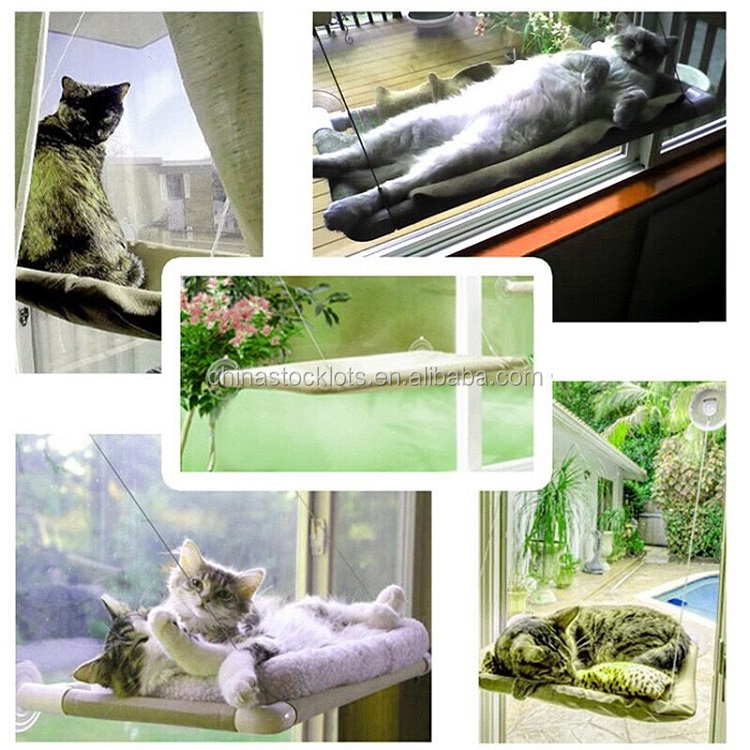 Window mounted cat ber sunny seat cat bed as seen on TV