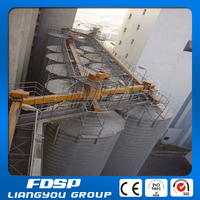 Hot sale automatic feeding corn silo for chicken farm