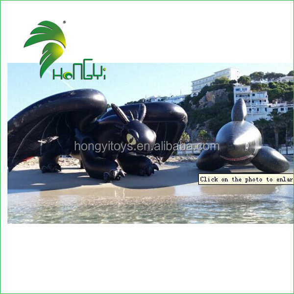 Cute Lifelke Custom Interesting Giant Inflatable Water Cartoon Toy