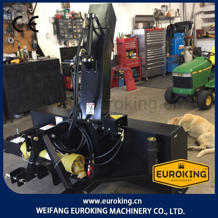 Working 1830mm Skid steer Auger snow blower