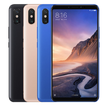 2019 xiaomi mi max 3 4gb+64gb global official version 5500mah smartphone with 6.9 inch miui 9.0