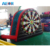 Factory manufacture mini inflatable foot darts for sale, soccer darts,inflatable dart game