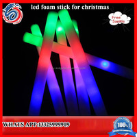 New products Promotional Led Foam Glow Sticks flash sprkling modes glow for wholesale LED foam stick