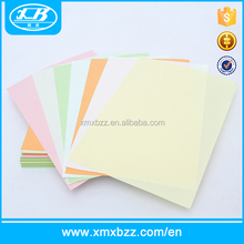 Custom size 100% wood pulp ESD dust-free colorful a4 a5 a6 lint free cleanroom printed paper