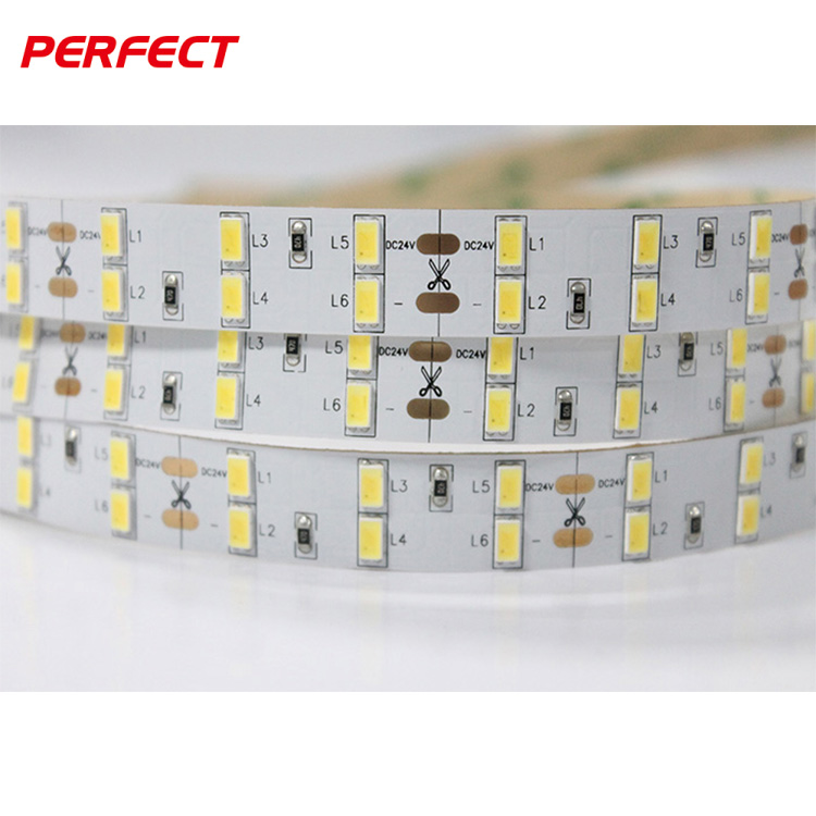 Perfect Led Ltd double row online retail store <strong>120</strong> leds/m 5630 / 5730 led light strip for store hotel project