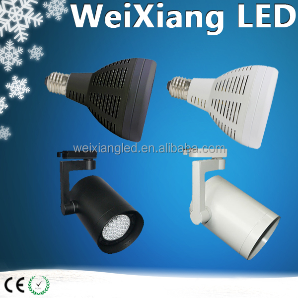New arrival 2017 commercial led spotlight E27/G12 45w par30 90lm/w for luxury brand store