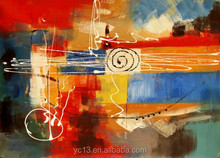 hot selling excellent handmade abstract oil painting ct-245