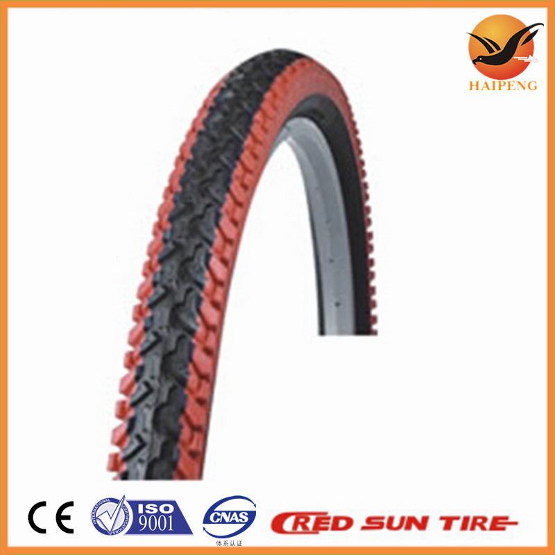 China factory colored bicycle tyre, color bike tyre