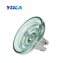 Wenzhou Yika IEC Toughen Disc Glass Insulator 160KN U160