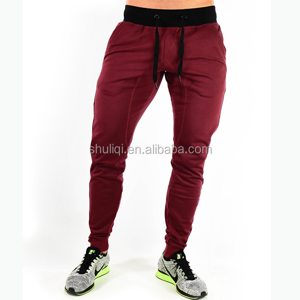 Adult training pants, custom personal pattern man trousers, sweat pants wholesale