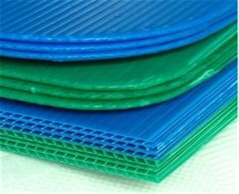 pp corrugated factory price custom plastic board 4x8 pp corrugated sheet