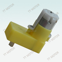 6 volt geared dc motor with plastic gear