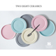 wedding party serving ceramic matte blue pink grey colored glaze diner tableware set plate with cup braking bowl bulk price