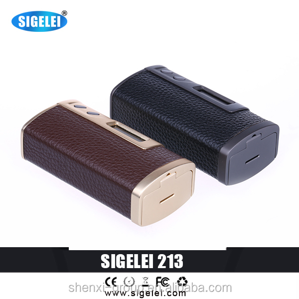 LEATHER sigelei 213 with TFR Mode added LEATHER sigelei 213w