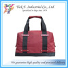 Red Classic Holdall Nylon Travel Bag