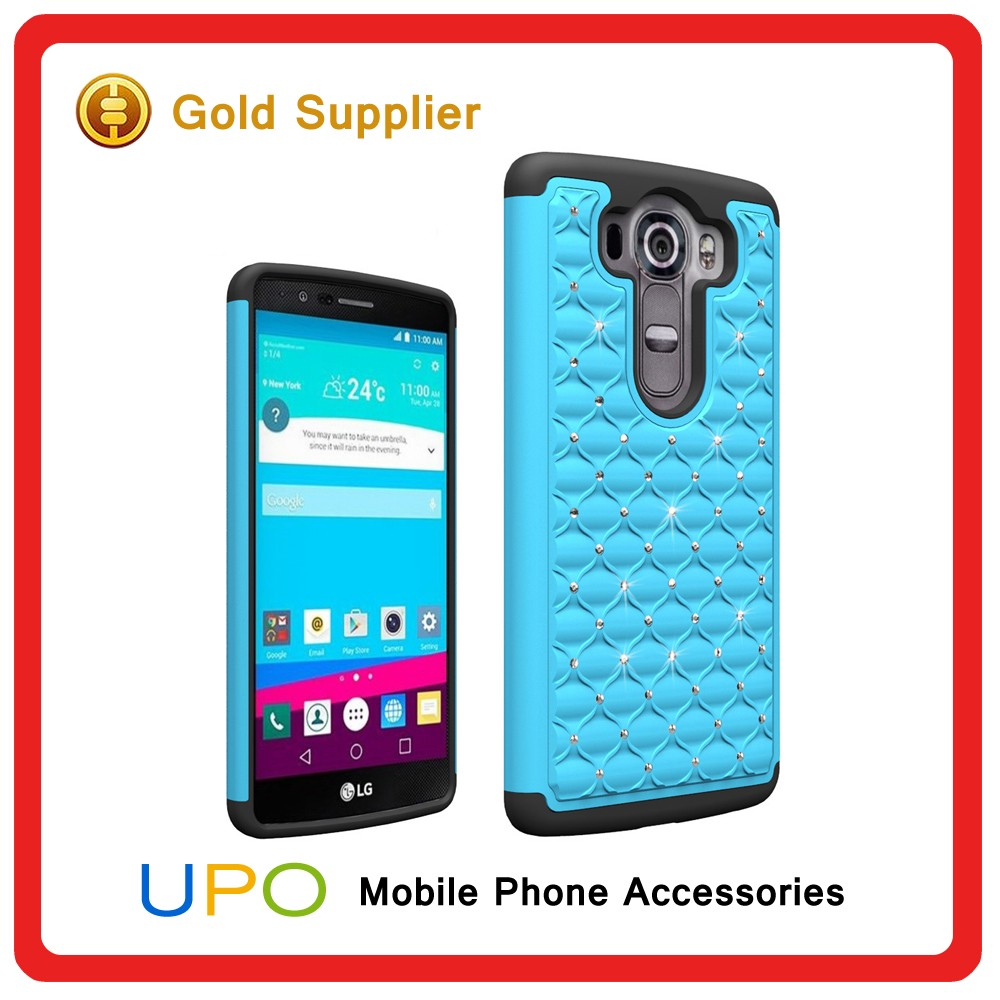 [UPO] Diamond Shockproof Combo Back Cover phone Case for LG V10