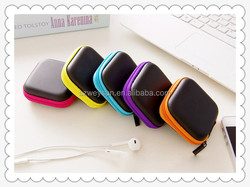 Mini Portable Square Earphone Wire Storage Box Organizer Data Cables Charger Storage Container Case U Disk SD Card Box