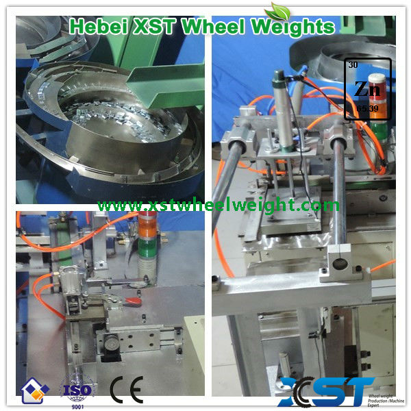 steel adhesive weight auto-taping machine