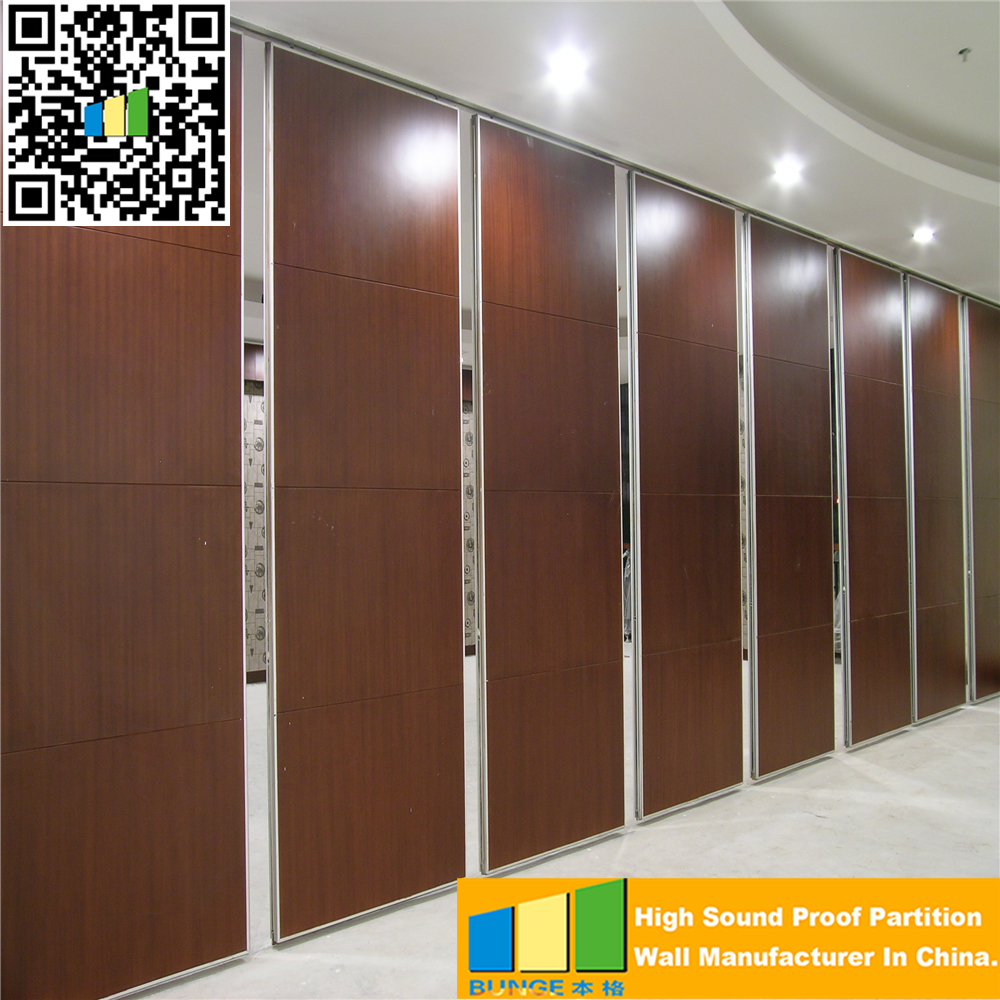 Wooden Partition powder coated movable wooden partition walls acoustic soundproof